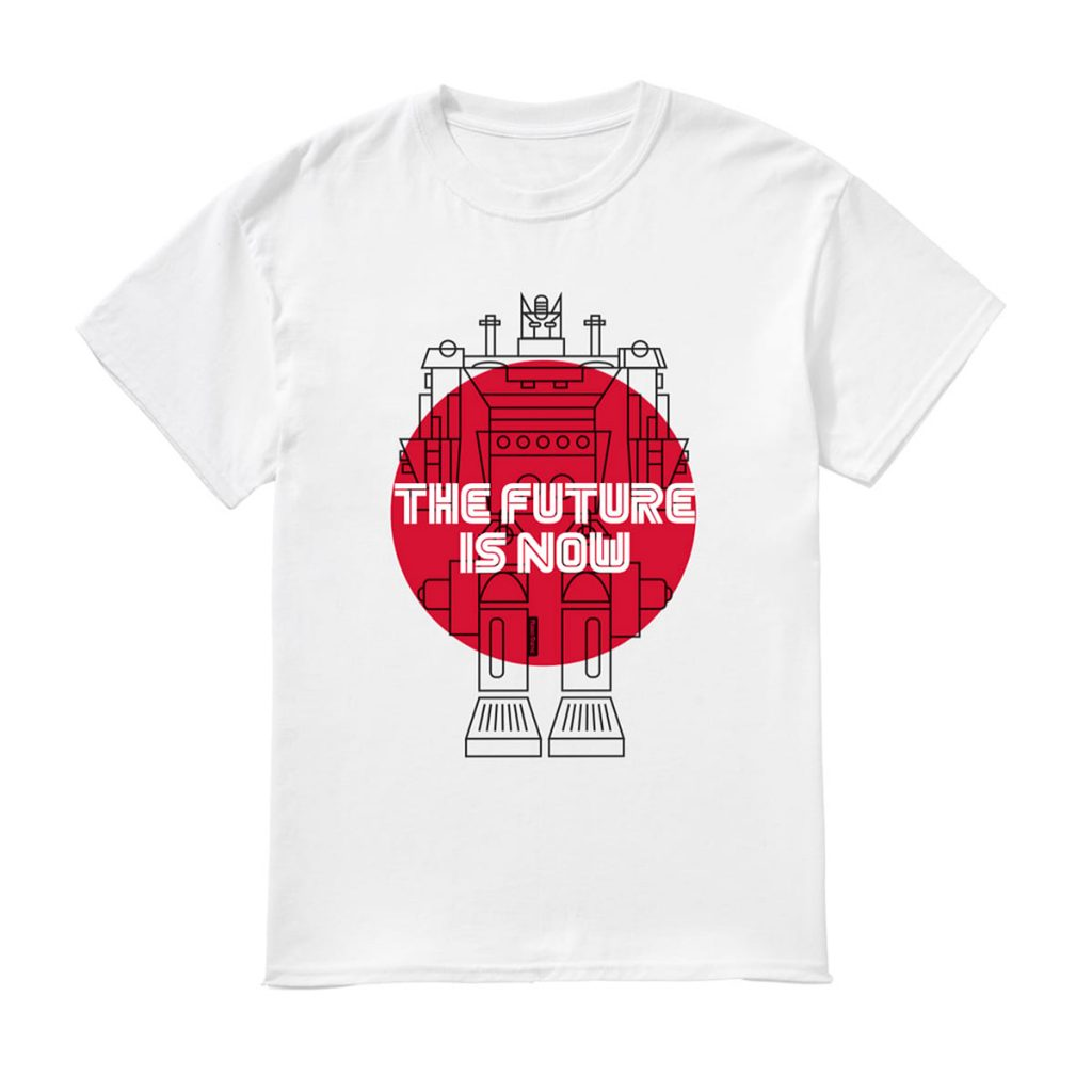 Cool T-shirts to buy online. T-Shirt: The Future is Now Robot