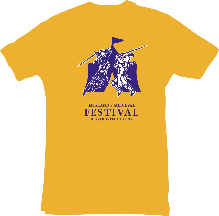 English Medieval Festival : Re-Branding & Website design